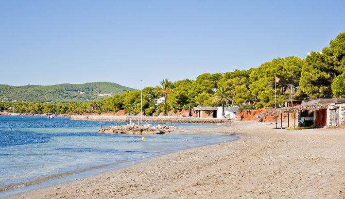 Playa de S'Argamassa, en la zona este de Ibiza
