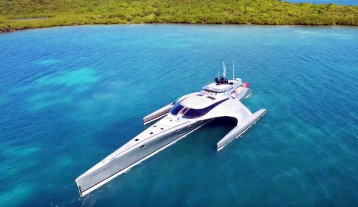 El superyacht Adastra