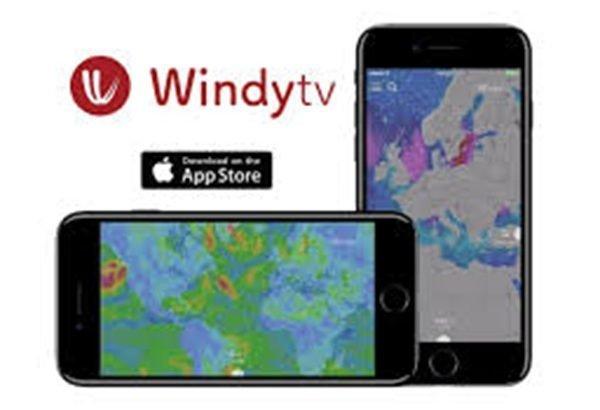 Windytv,  la App recomenda para el tiempo en Ibiza y Formentera