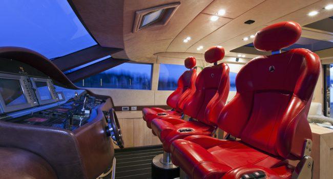 AB 78 Yacht Zazzazu Ibiza Barcoibiza Puesto de Mando