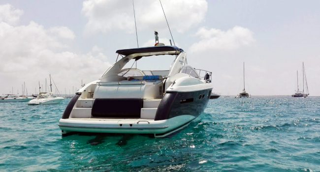 Absolute 45 Alexamar Ibiza Boat Rental Barcoibiza