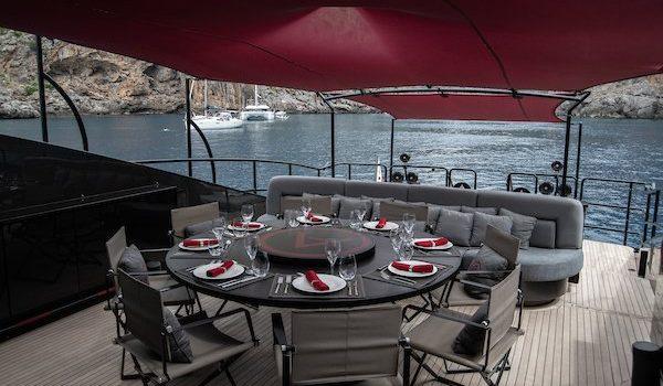 Ascari Yacht Terrace Area