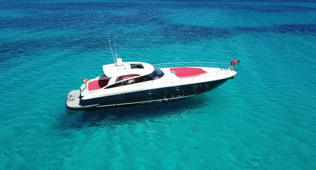 Baia Aqua 54 Black Moon Ibiza Yacht Rental Barcoibiza