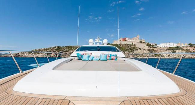 Mangusta 80 Avatar Ibiza Yacht Rental Proa