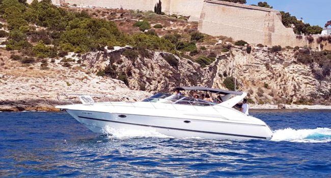 Cranchi 39 Berenice Ibiza Boat Rental Barcoibiza