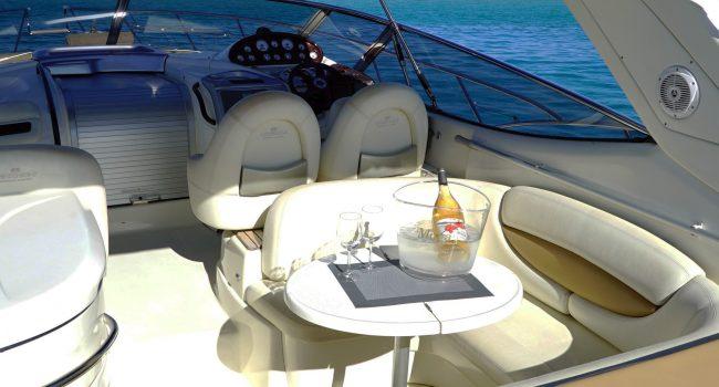 Yate Cranchi 41 12 metros Ibiza 9 Personas más capitán