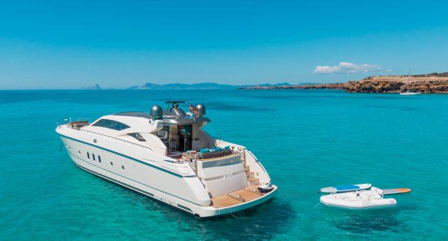 Dalla Pieta 72 Eluthen Yacht Rental Alquiler Barcoibiza