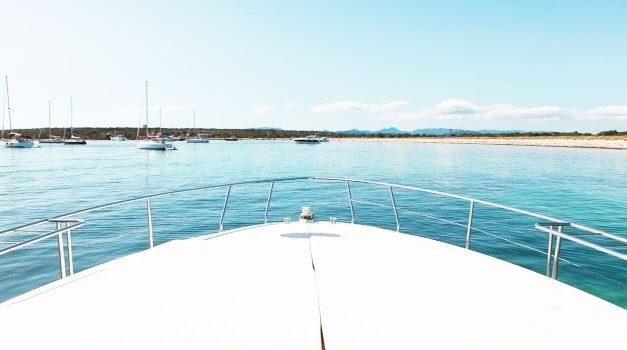 Pershing 45 Jajo Ibiza Yacht Rental Barcoibiza Alquiler Proa