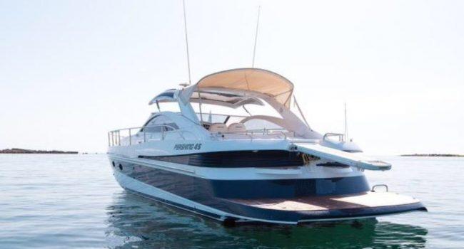 Pershing 45 Jajo Ibiza Yacht Rental Barcoibiza Alquiler Boat