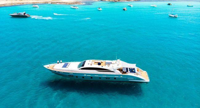 Tecnomar 120 Blue Jay Ibiza Yacht Barcoibiza