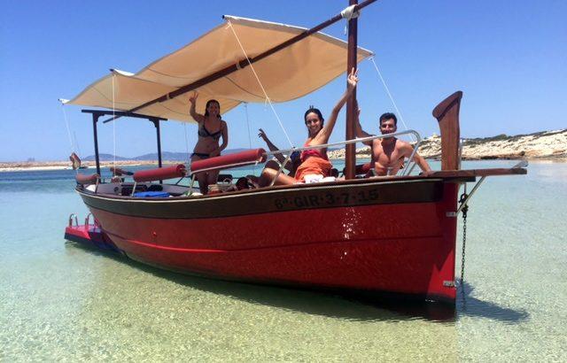 Alquiler de un llaüt en Formentera: Sa Forada