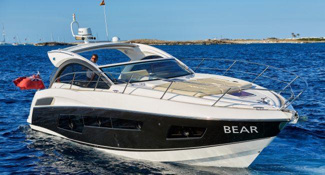 Sunseeker Portofino 40 Bear Barco Alquiler Ibiza Yacht Rental Barcoibiza Day Charter Agency