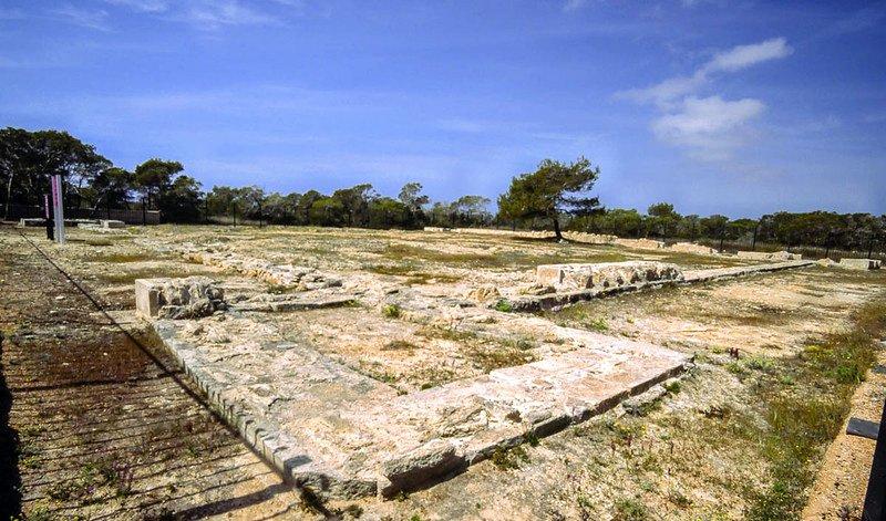 Castillo Romano de Can Blai Formentera