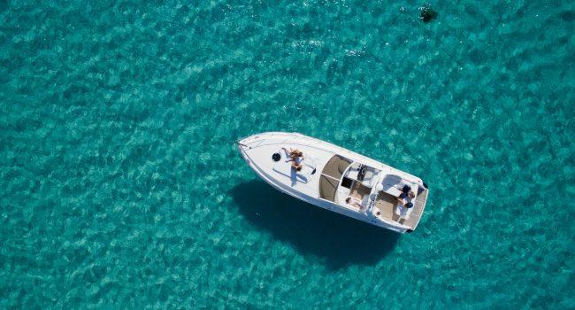 Princess V40 Cotton Yacht Boat Ibiza Rental Alquiler Barcoibiza Exterior 4