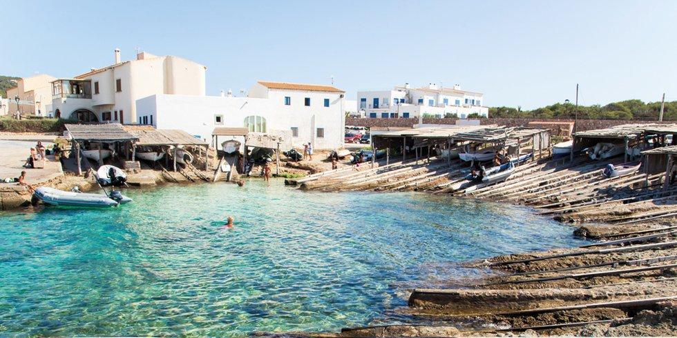 Es Caló de Sant AgustÍ Formentera