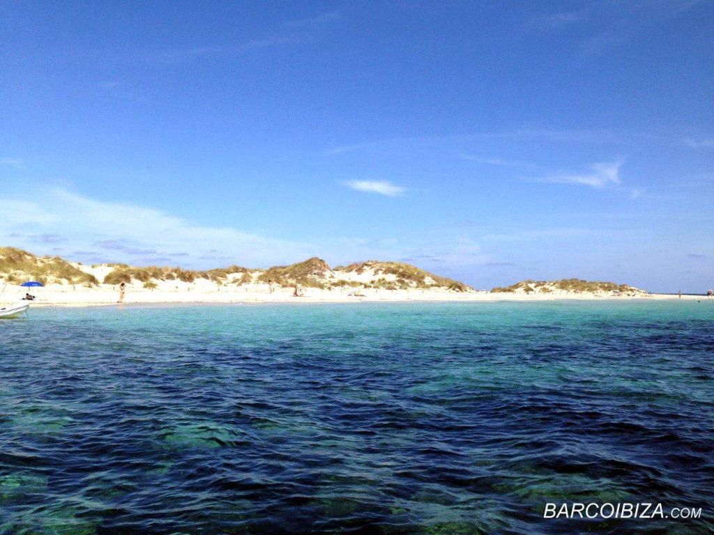 Espalmador Formentera Barcoibiza