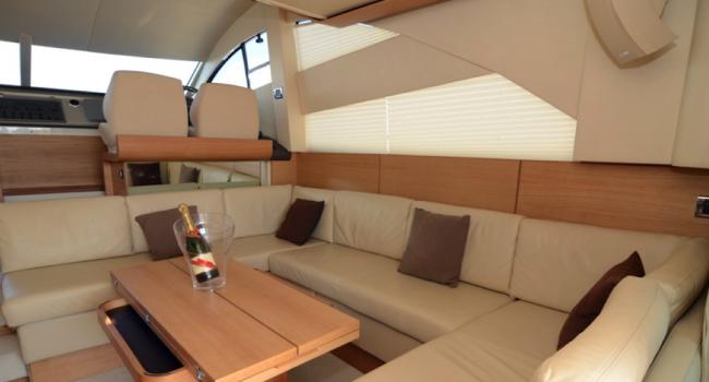 Fairline Phantom 48 Upanddown Ibiza Yacht Charter Barcoibiza Salon