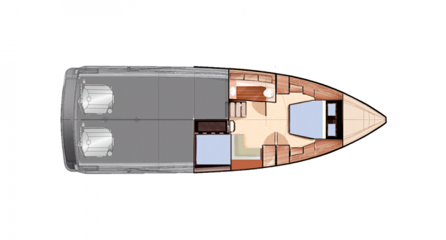 Fjord 40 Open Lay Out Interior