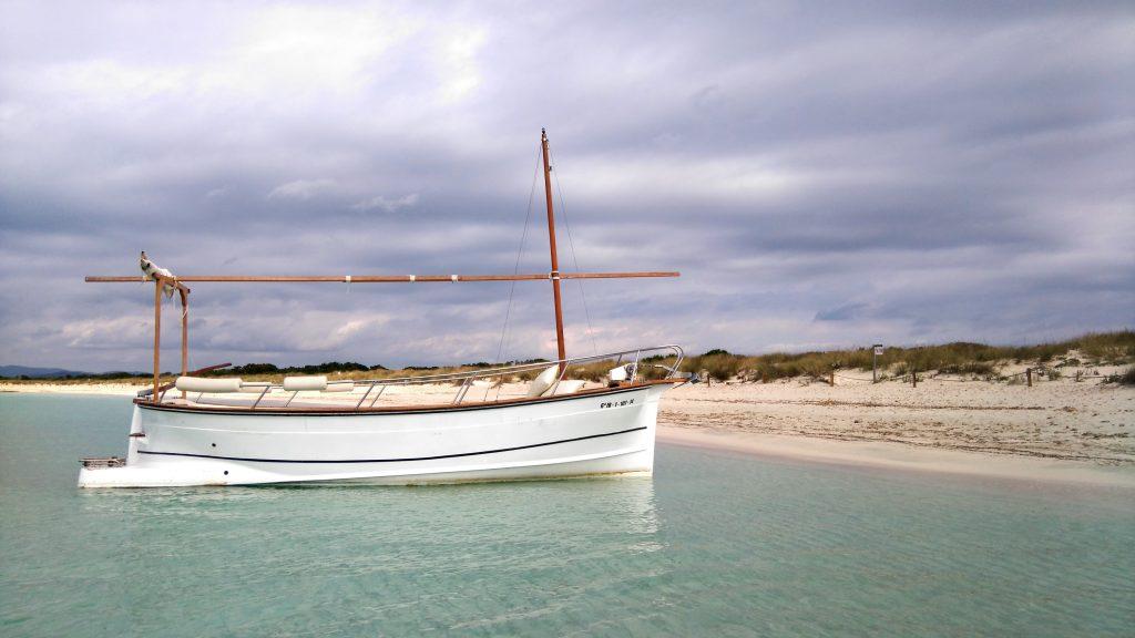 Alquiler llaut Formentera Barcoibiza
