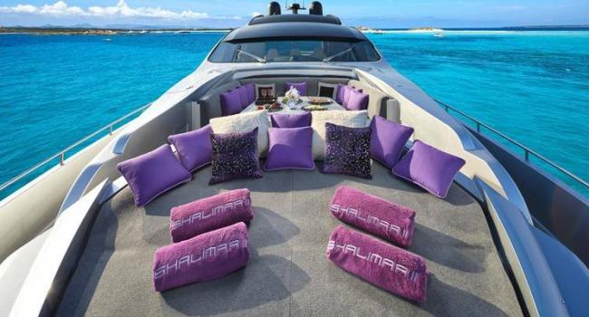 Pershing 90 Shalimar Superyacht Ibiza Barcoibiza