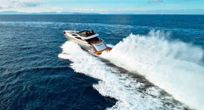 Pershing 90 Shalimar Superyacht Ibiza Barcoibiza-Sailing