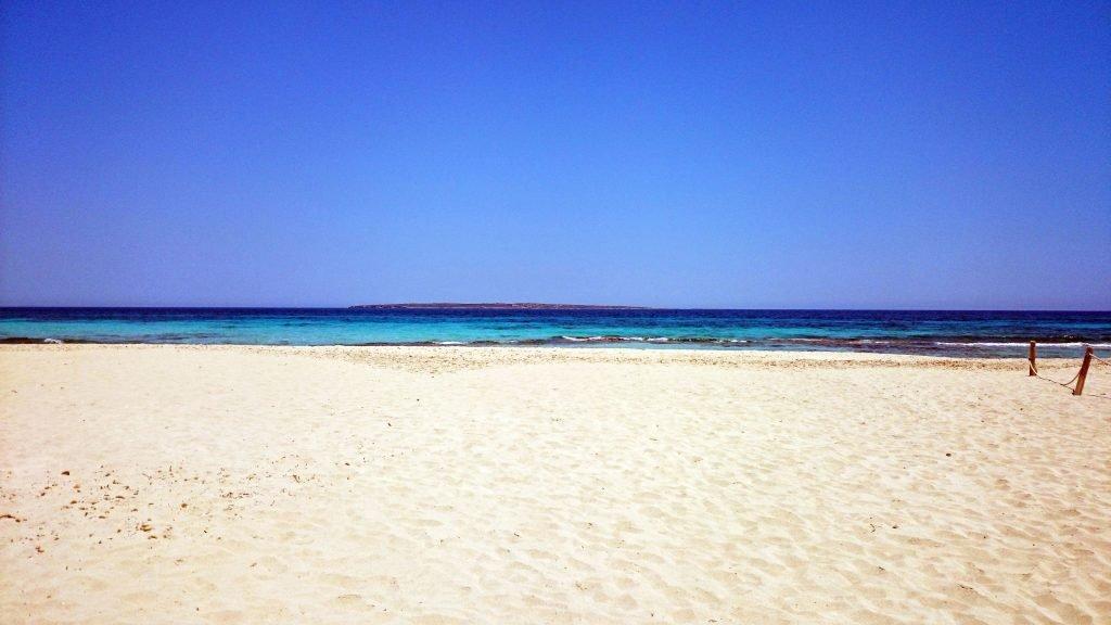 Playa de ses Illetes (Illetas) en Formentera