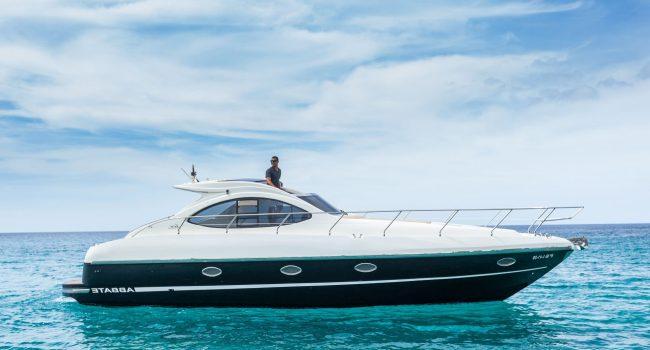 Primatist Abbate G41 Smile Ibiza Santa Eulalia Yacht Rental Barco Alquiler