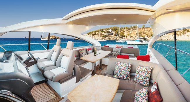 Princess V53 Manbero Exterior biza Yacht Barcoibiza