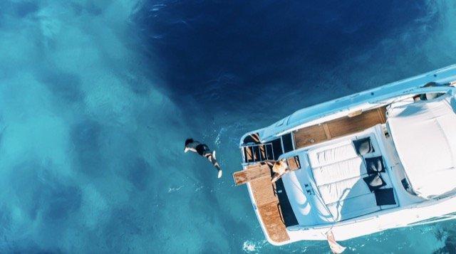 Barco de alquiler day charter en Ibiza