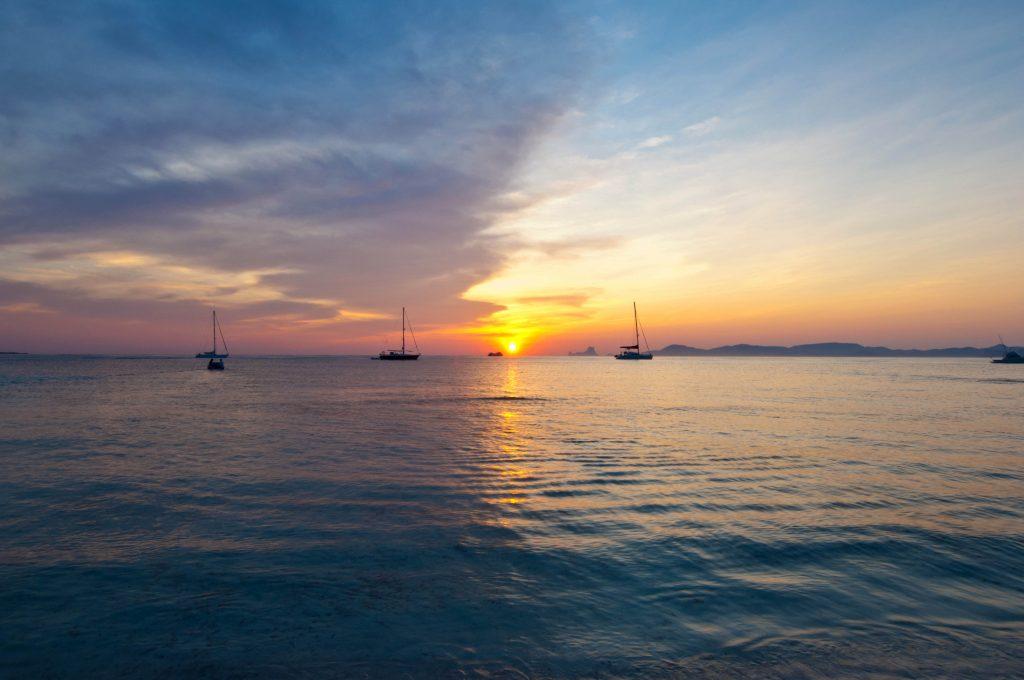 Foto Puesta Sol Formentera Playa Illetas