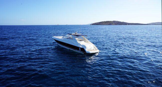 Sunseeker Camargue 47 Yacht Charter Alquiler Rental Barcoibiza