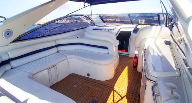 Sunseeker Camargue 50 Sami Barcoibiza Yacht Charter Ibiza