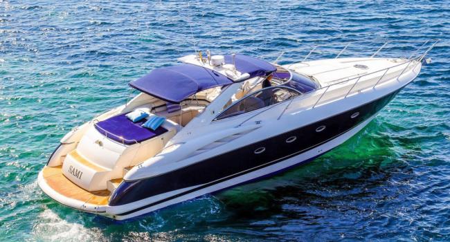 Sunseeker Camargue 50 Sami Ibiza Yacht Rental Barcoibiza