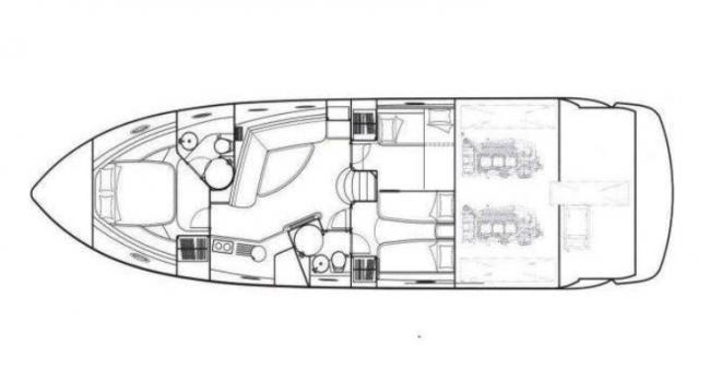 Sunseeker Portofino 53 Yacht Ibiza Rental Barcoibiza