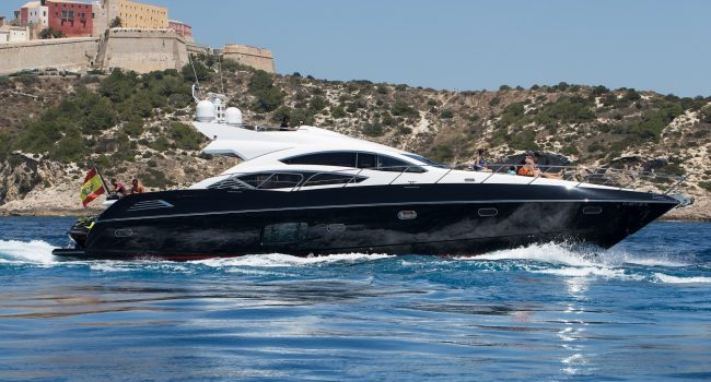 Sunseeker-Predator-74-BJ-Ibiza-Super-Yacht-Rental-Black-Jax