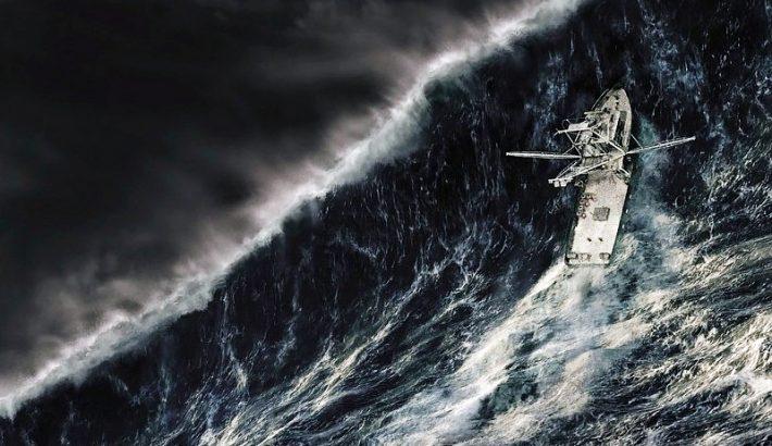 He alquilado un barco y el día que salgo a navegar hace mal tiempo