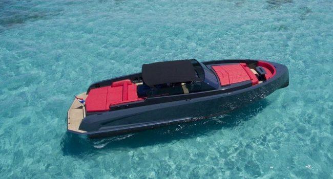 Vanquish VQ48 Lady Thunder Alquiler Rental Ibiza Yacht Barcoibiza