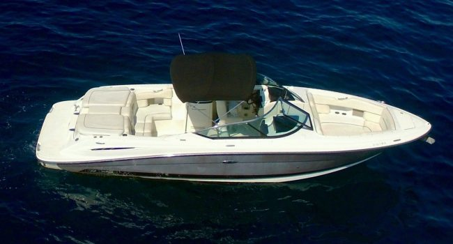 Sea Ray 270 SLX Thriller Lancha Motorboat Alquiler Rental Barcoibiza