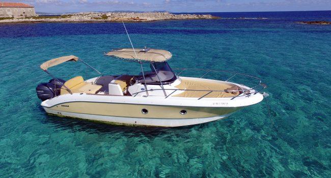 Sessa Key Largo 30 Ibiza Lancha Motorboat Alquiler Rental Barcoibiza-15