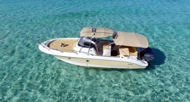 Sessa Key Largo 30 Ibiza Lancha Motorboat Alquiler Rental Barcoibiza-3