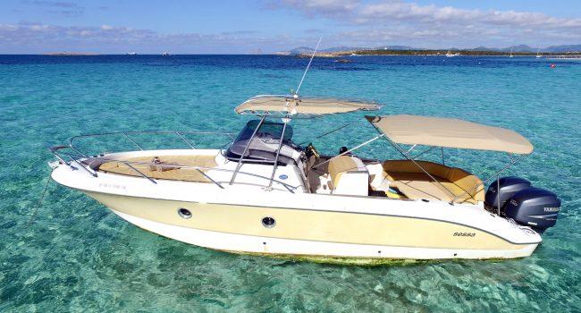 Sessa Key Largo 30 Ibiza Lancha Motorboat Alquiler Rental Barcoibiza-5