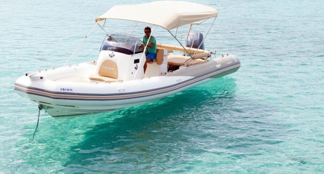 Alquiler Medline 850 Formentera Nauru Neumatica RIB Barcoibiza
