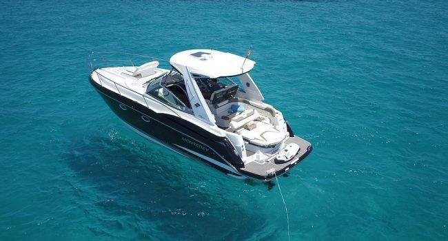 Monterey 355 SY Andrea Lancha Motorboat Alquiler Rental Barcoibiza