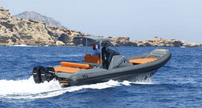 Nuova Jolly 38 Maluca Alquiler Rental RIB Motorboat Neumatica Barcoibiza