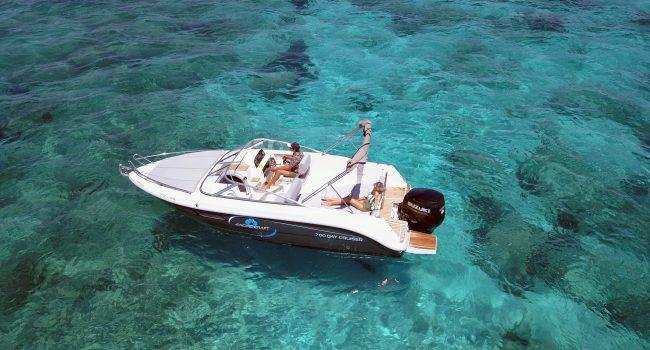 Pacific Craft 700 Day Cruiser Motorboat Lancha