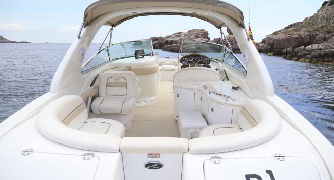 Sea Ray 290 Bow Rider n1 Alquiler Lancha Motora Motorboat Barcoibiza
