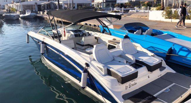Alquiler Sea Ray 290 SDX La Bomba Lancha Motora Motorboat Barcoibiza