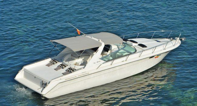 Sea Ray Sun Sport 38 Ice Ice Baby Lancha Motora Motorboat Barcoibiza
