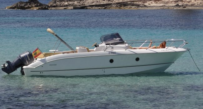 Sessa Key Largo 30 Permanent Sunglasses Lancha Motora Motorboat Barcoibiza