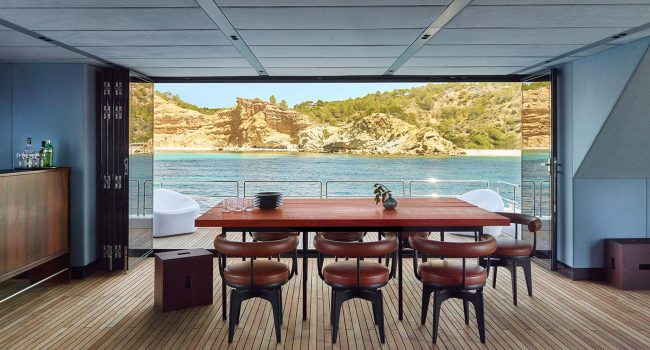 Catamaran Sunreef Supreme 68 Midori Interior Alquiler Baleares Barcoibiza
